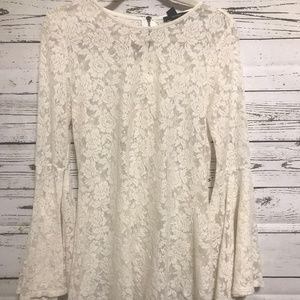 Forever 21 Lace Tunic ~ Sz Medium ~ Boho